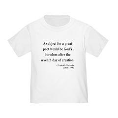 Nietzsche 26 Toddler T-Shirt