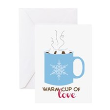 Cup Of Love Greeting Cards