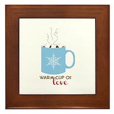 Cup Of Love Framed Tile