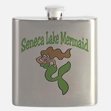 Seneca Lake Mermaid Flask