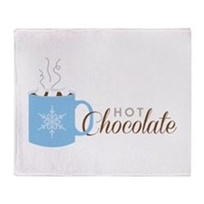 Hot Chocolate Throw Blanket