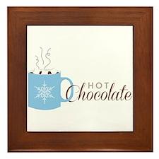 Hot Chocolate Framed Tile