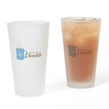 Hot Chocolate Drinking Glass