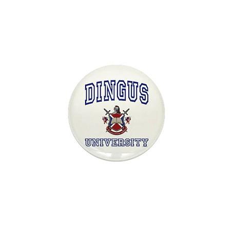 DINGUS University Mini Button (10 pack)