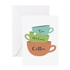 Hot Drinks Greeting Cards