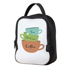 Hot Drinks Neoprene Lunch Bag