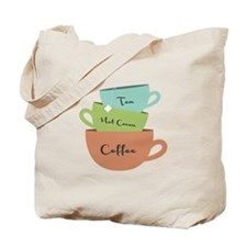 Hot Drinks Tote Bag
