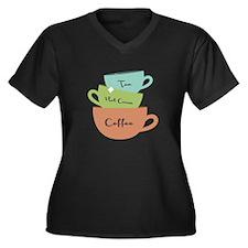 Hot Drinks Plus Size T-Shirt