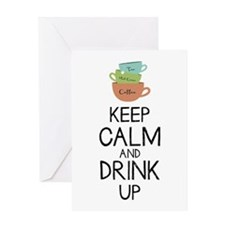 Drink Up Greeting Cards