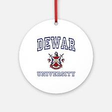 DEWAR University Ornament (Round)