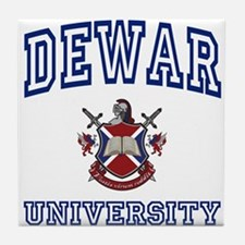 DEWAR University Tile Coaster
