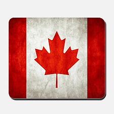 Vintage Canadian Flag Mousepad