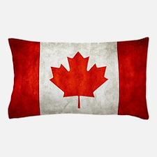 Vintage Canadian Flag Pillow Case