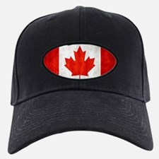 Vintage Canadian Flag Baseball Hat