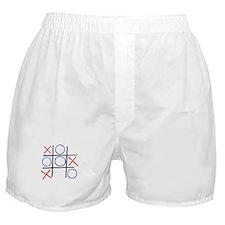 Tic Tac Toe Boxer Shorts