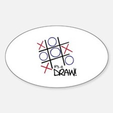 It's A Draw! Decal