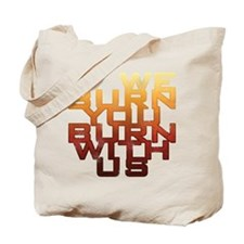 Mockingjay: If We Burn Tote Bag