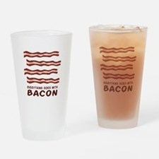 Everything Goes Drinking Glass