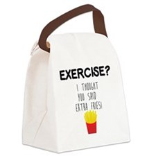 Cute French fries Canvas Lunch Bag
