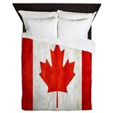 Canada flag Queen Duvet Covers