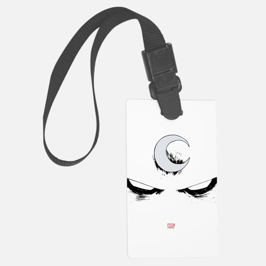 Moon Knight Face Luggage Tag