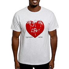 Organ Donation Heart #2 T-Shirt