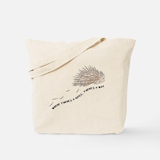 Cute Porcupine Tote Bag