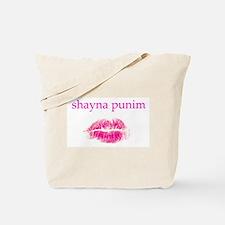 Shayna Punim Tote Bag