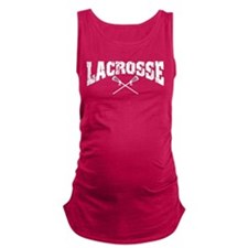 lacrosse22colored.png Maternity Tank Top