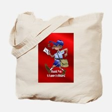 mailCarrierOrnblack.png Tote Bag