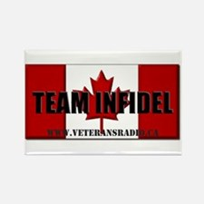 Team Infidel Flag Magnets