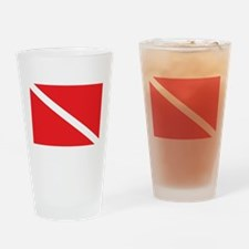 scuba32.png Drinking Glass