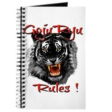 Goju Ryu Black Tiger design Journal