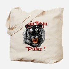 Goju Ryu Black Tiger design Tote Bag