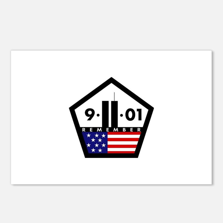 9-11-01 Postcards (Package of 8)