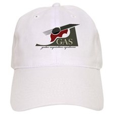 G.A.S. Acoustic Guitar Red Baseball Cap