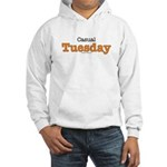 Casual Tuesday Work At Home Hooded Sweatshirt