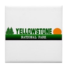 Yellowstone National Park Tile Coaster