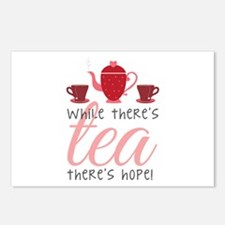 While Theres Tea Postcards (Package of 8)