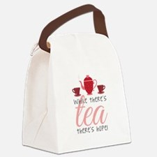 While Theres Tea Canvas Lunch Bag