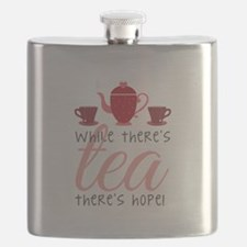 While Theres Tea Flask