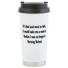 Funny Student nurse Travel Mug