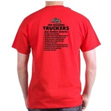 10 Reasons Truckers Better Lovers T-Shirt