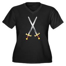 swords Plus Size T-Shirt