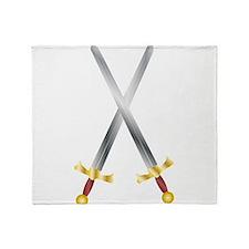 swords Throw Blanket