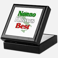Nonno Knows Best Keepsake Box