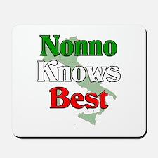 Nonno Knows Best Mousepad
