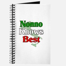 Nonno Knows Best Journal