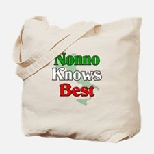 Nonno Knows Best Tote Bag