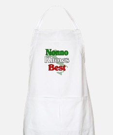 Nonno Knows Best BBQ Apron